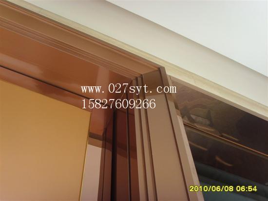 不锈钢电梯门套 脚线-3